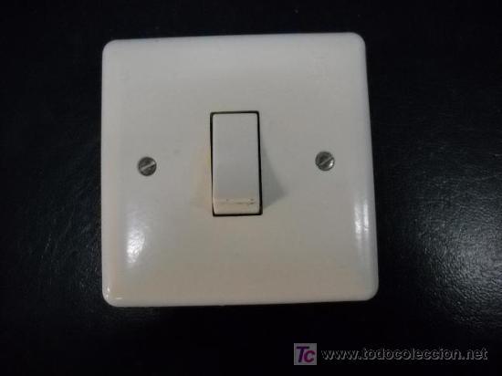 interruptor luz antiguo marca simon