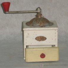 Antigüedades: ANTIGUO MOLINILLO CAFE MARCA ELMA - BONITA PIEZA PARA PRACTICAR LA RESTAURACION. Lote 25021991