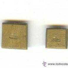Antigüedades: DOS PESA PONDERAL CON LETRAS F MIRO PESOS: 1'6 Y 3'4 GRAMOS. MUY BUENA CONSERVACIÓN.. Lote 24013421