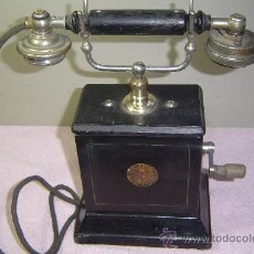 Teléfonos: HORQUIILA ORIGINAL PARA TELÈFONO ANTIGUO ERICSSON AC 400. Lote 162634220