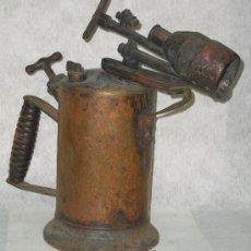 Antigüedades: ANTIGUO SOPLETE DE FONTANERO SOLDADOR - VER FOTOS. Lote 34285521