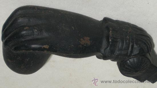 Antigüedades: LLAMADOR MANO - HIERRO - - VER FOTOS - Foto 5 - 27106912