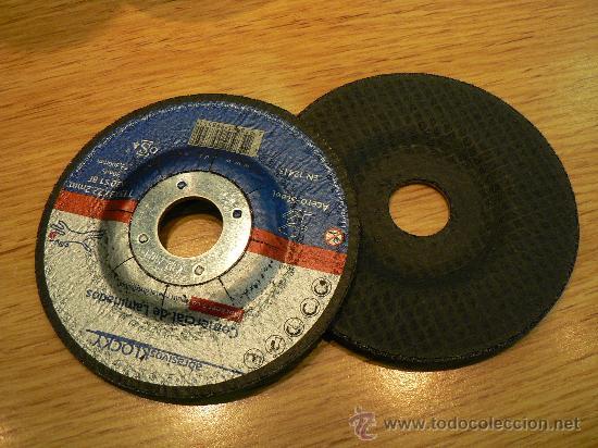 Antigüedades: discos de corte de hierro para radial o mola nuevos a estrenar - Foto 4 - 17658535