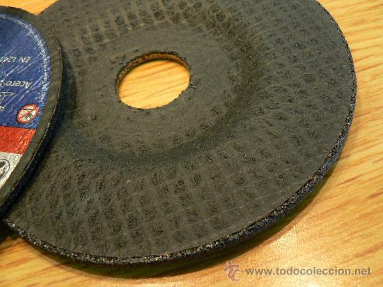 Antigüedades: discos de corte de hierro para radial o mola nuevos a estrenar - Foto 5 - 17658535