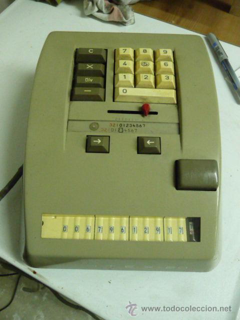 CALCULADORA ELECTRICA CONTEX-20 AÑOS 60 (EN -VER DETALLE) (Antigüedades - Técnicas - Aparatos de Cálculo - Calculadoras Antiguas)
