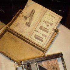 Antigüedades: ANTIGUO AFILADOR DE HOJAS DE AFEITAR. Lote 25486316