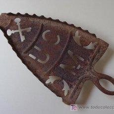 Antigüedades: ANTIGUO SOPORTE PARA PLANCHA.. Lote 26508338