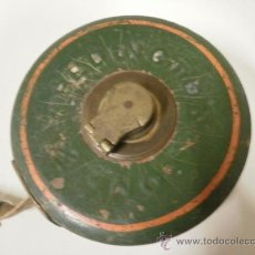 Antigüedades: CINTA METRICA INGLESA. Lote 17770634