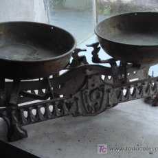 Antigüedades: BALANZA ANTIGUA. Lote 27502652