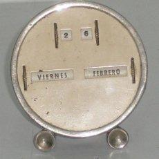 Antigüedades: ANTIGUO CALENDARIO DE SOBREMESA. Lote 27606405