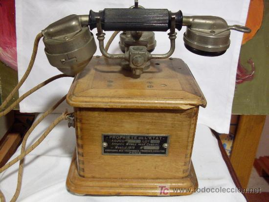 TELEFONO THOMSON-HOUSTON (Antigüedades - Técnicas - Teléfonos Antiguos)
