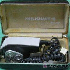 Antigüedades: **ANTIGUA MAQUINA DE AFEITAR ELECTRICA(AÑOS 70),---PHILISHAVE---¡¡FUNCIONA!!. Lote 27038837