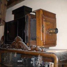 Antigüedades: LINTERNA MAGICA CON OBJETIVO RECTILIGNE. Lote 26451305