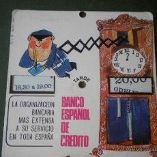 Antigüedades: RELOJ DE APARCAMIENTO DE LOS AÑOS 70 , DEL BANCO ESPAÑOL DE CREDITO. Lote 25344609