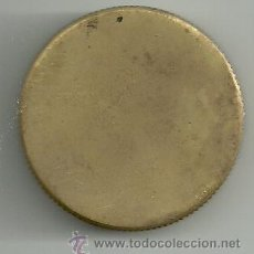 Antigüedades: CATALEJO TAPON DE LATON 33MM. Lote 25426430