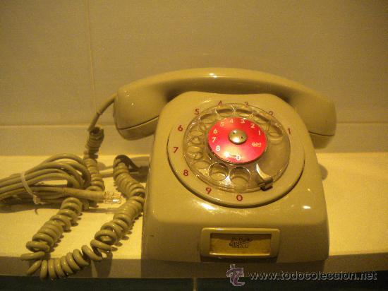 TELÉFONO DE RUEDA ERICSSON LM (Antigüedades - Técnicas - Teléfonos Antiguos)