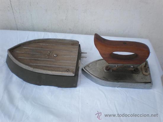 Antigüedades: plancha antigua electrica - Foto 2 - 18666358