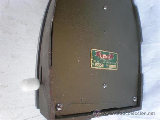Antigüedades: plancha antigua electrica - Foto 3 - 18666358