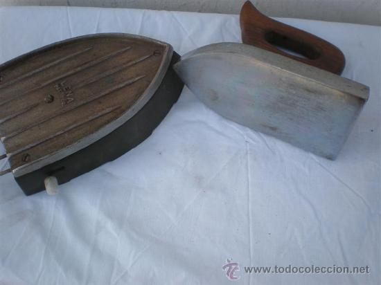 Antigüedades: plancha antigua electrica - Foto 4 - 18666358