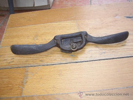 Antiguo cepillo de carpintero a dos manos comprar - Cepillo de carpintero ...