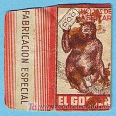 Antigüedades: FUNDA HOJA DE AFEITAR EL GORILA. FABRICACIÓN ESPECIAL.. Lote 18754867