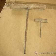 Antigüedades: PAREJA DE BERBIQUIES ANTIGUOS. Lote 24224385