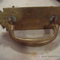 Antigüedades: MANILLA ANTIGUA DE BRONCE. Lote 25256634