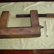 Antigüedades: GATO ANTIGUO DE MADERA DE ROBLE. Lote 26783577