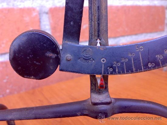 Antigüedades: balanza pesa cartas pesacartas balance pese lettre - Foto 3 - 26919131