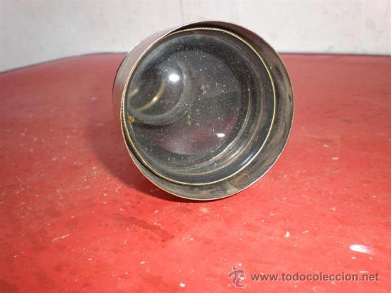 Antigüedades: binoculo metalico y nacar - Foto 2 - 19207053