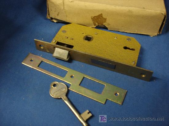 Antigua cerradura ilargi ref 63 para puerta de comprar - Llaves antiguas de puertas ...