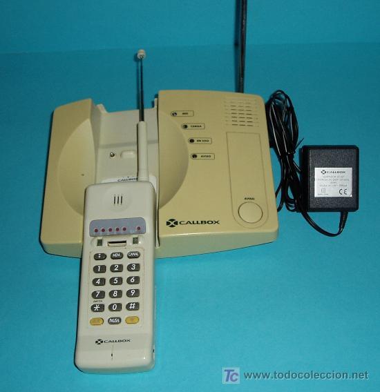 Teléfonos: TELÉFONO CALLBOX. INALÁMBRICO. CON SU CARGADOR ORIGINAL. SIN PROBAR SU FUNCIONAMIENTO - Foto 2 - 27184967