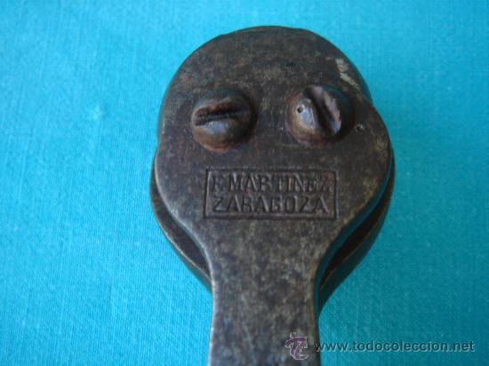 Antigüedades: DETALLE -F. MARTÍNEZ. ZARAGOZA- - Foto 7 - 26831152