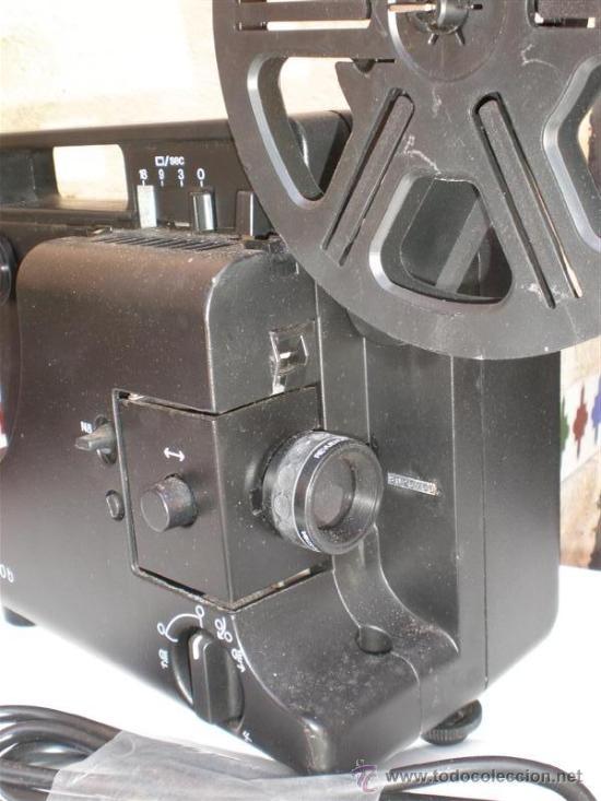 Antigüedades: proyector 8mm REUE LUX ·30B - Foto 2 - 221653366