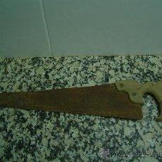 Antigüedades: SERRUCHO ANTIGUO DE CARPINTERO. Lote 19522161