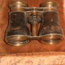 Antigüedades: ANTIGUOS BINOCULARES ~PRISMÁTICOS OPTICEN CHEVALIER PARIS 1765-1889~ REF. 00769~ GASTOS INCLUIDOS. Lote 23534531