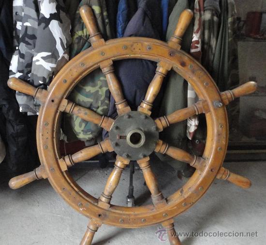 Tim n de barco de 80 cm aprox comprar antig edades - Antiguedades de barcos ...