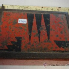 Antiquitäten - Caja metálica, interior de madera Tibidabo, 11'5 x 8 x 4'5 cm - 19797567