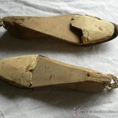 Antigüedades: HORMAS/ HORMA DE ZAPATO/ZAPATOS (ZAPATERO). Lote 26996889