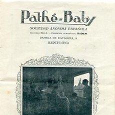 Antigüedades: CATALOGO PELICULAS PATHE - BABY MARZO 1926. Lote 20061629