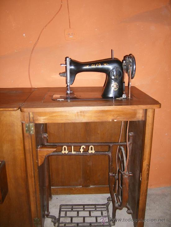 Ocasion-antigua maquina de coser.alfa s.a.eibar - Vendido