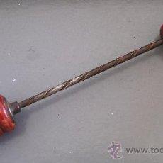 Antigüedades: TALADRO MANUAL PARA TRABAJOS FINOS / TALADRO ARQUIMEDES (30CM APROX, CIERRE DE LATON). Lote 20085015