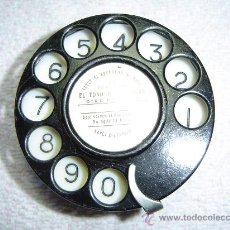 Teléfonos: DISCO WESTERN ELECTRIC Nº 4 MADE IN USA EN EXCELENTE ESTADO DE ORIGINALIDAD !!!. Lote 21392938
