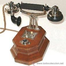 Teléfonos: HORQUILLA ORIGINAL PARA APARATO LORENZ, BERLIN , GERMANY, CA. 1910. Lote 162708569