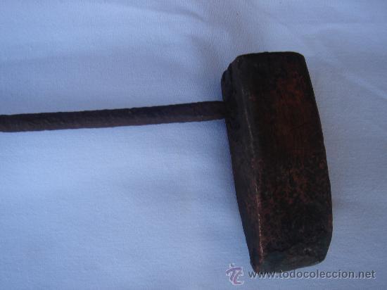 Antigüedades: DETALLE DE LA PIEZA DE SOLDAR - Foto 2 - 26627438