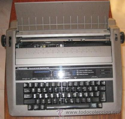PANASONIC ELECTRONICA R191. ENVIO CERTIFICADO INCLUIDO. (Antigüedades - Técnicas - Máquinas de Escribir Antiguas - Otras)