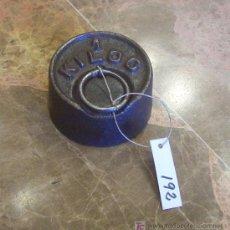 Antigüedades: ANTIGUA PESA DE HIERRO. Lote 26104456