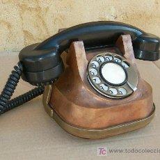 Teléfonos: TELEFONO DE COBRE ANTIGUO FUNCIONANDO ,,,TEL365. Lote 235098775