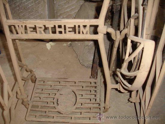 Antigüedades: Máquina de coser Wertheim - Foto 3 - 26097748