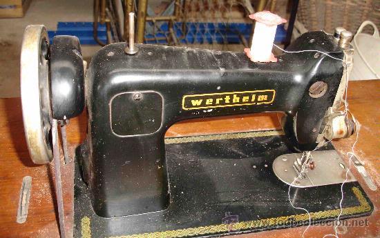 Antigüedades: Máquina de coser Wertheim - Foto 4 - 26097748